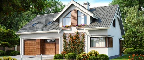 Как выбрать план дома с гаражом?
