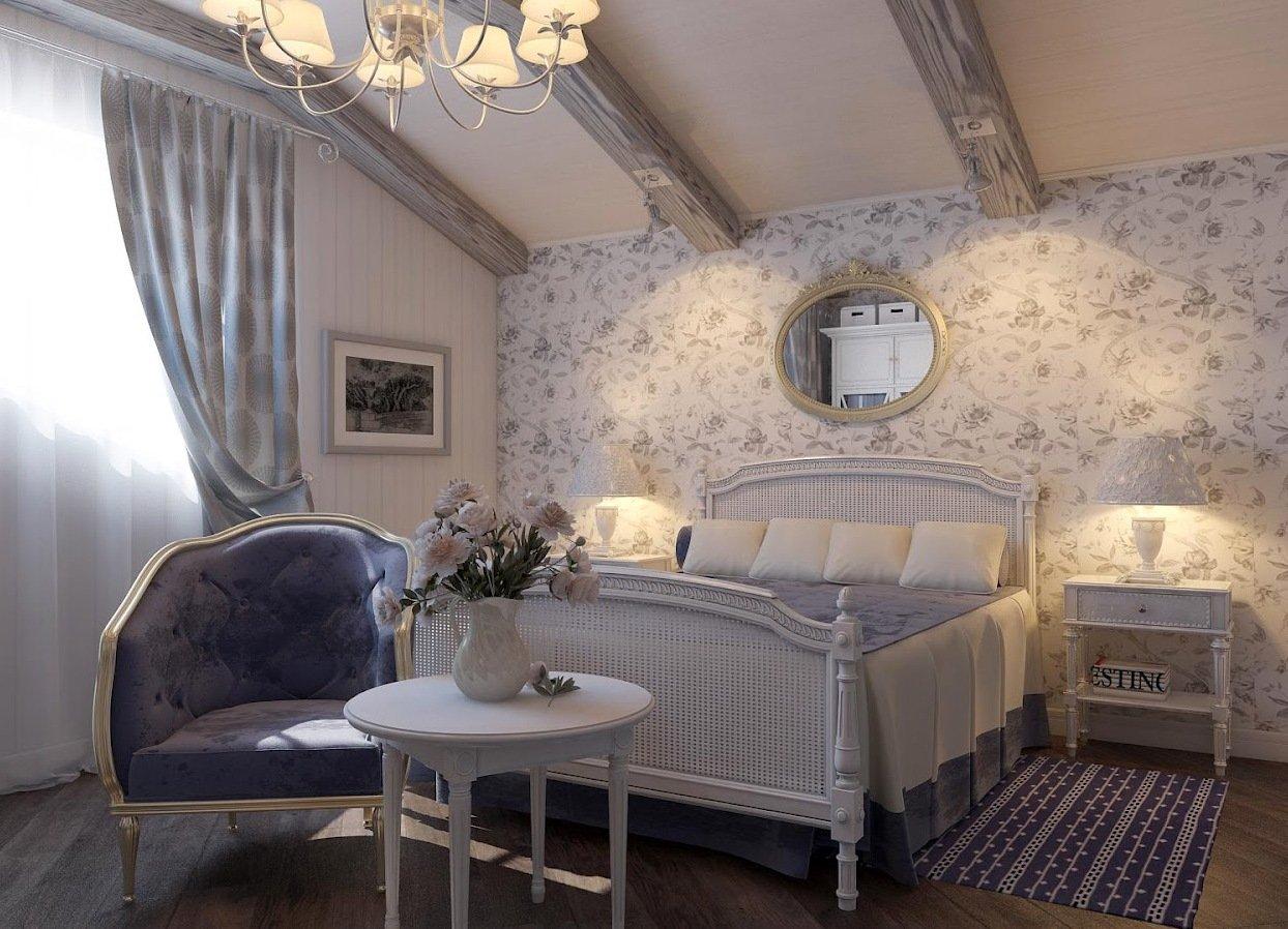дизайн в стиле прованс офомление интерьера квартиры дома