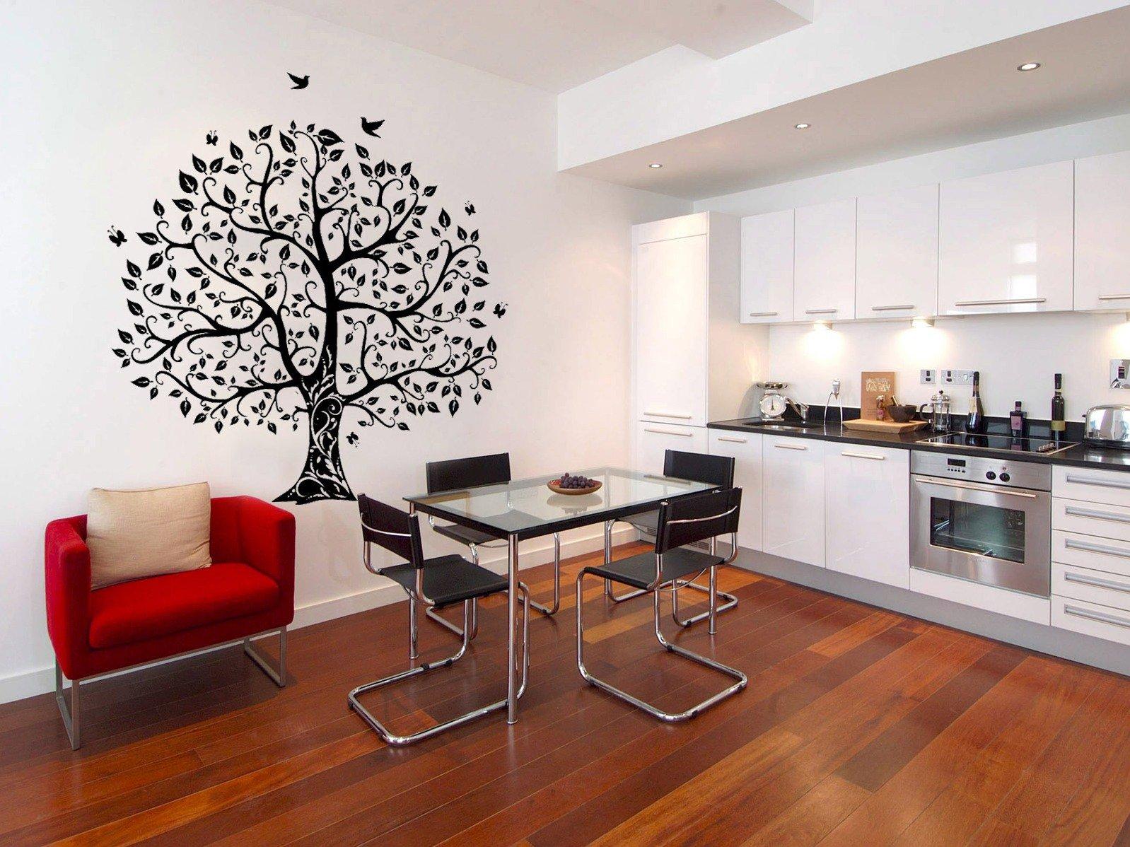 Обновляем интерьер кухни: обои и как их выбрать