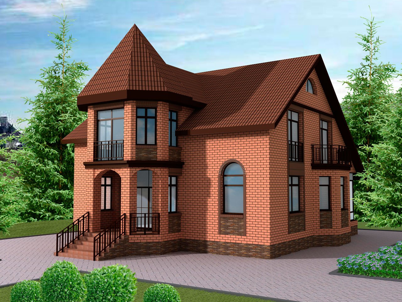 Как построить кирпичный дом: фото…репортаж и мастер-класс :)