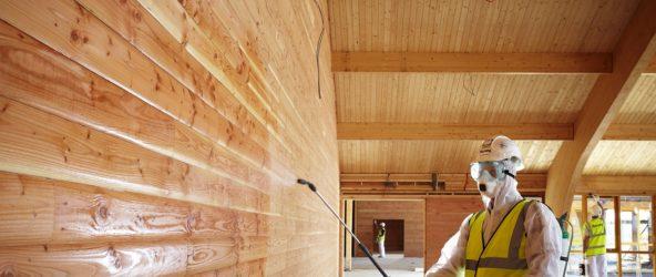 Теремок на новый лад, или Средства для покраски дома из бруса?