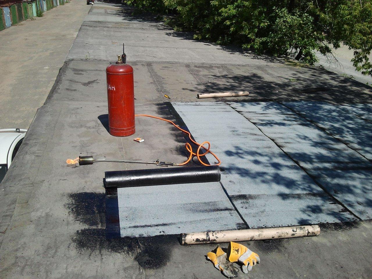 Ремонт крыши и пола в гараже своими руками
