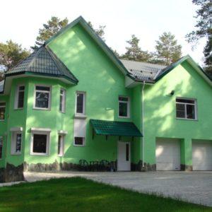 Зелёный фасад