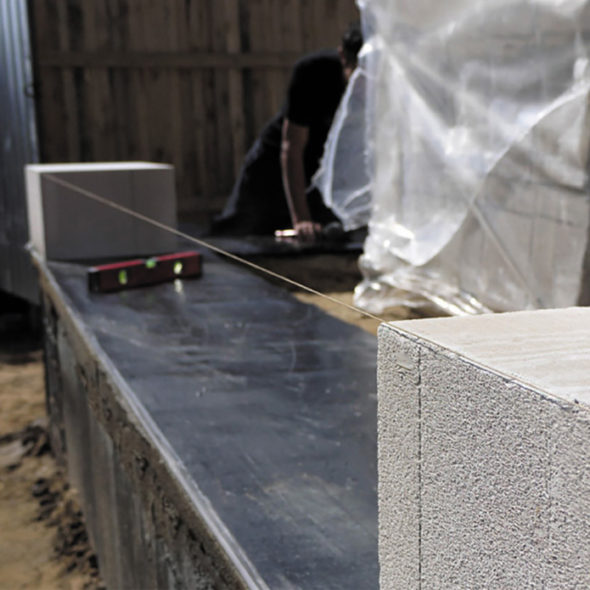 Использование строительного шнура