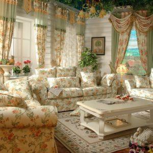 Текстиль в оформлении гостиной