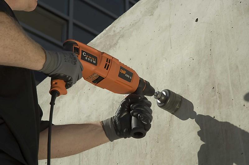 пробурить дырку в бетоне