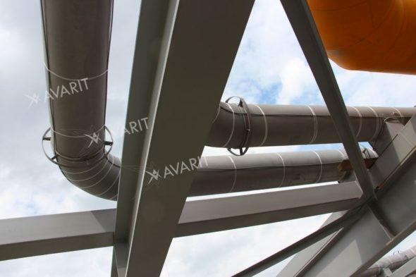 Обогревающий кабель на тррубах
