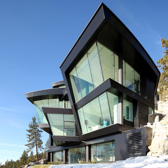 Lake House от Mark Dziewulski Architect