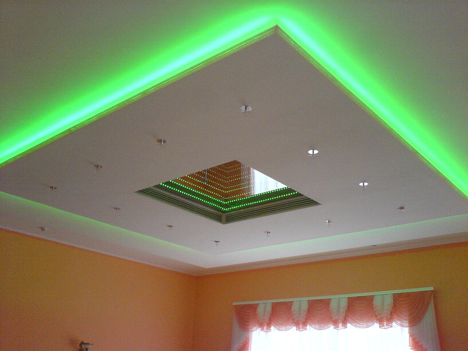 Светодиодная подсветка в интерьере: варианты и монтаж своими руками