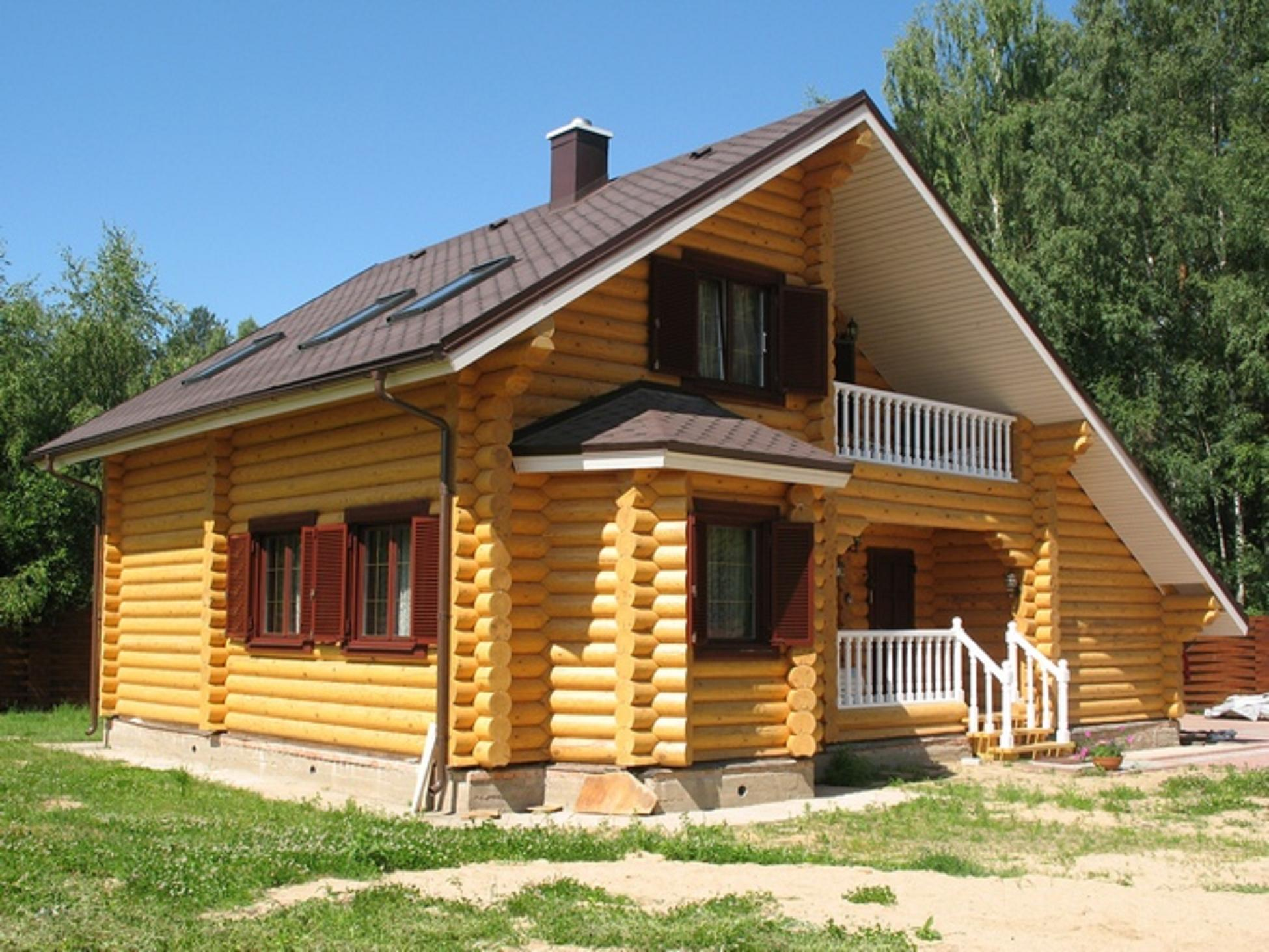 По всем правилам: особенности строительства дома из бруса