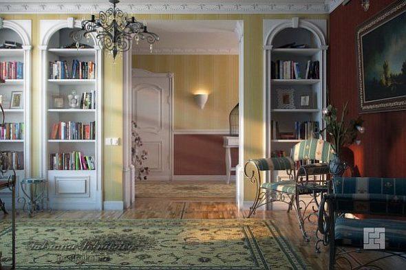Дизайн гостиной в прованском стиле