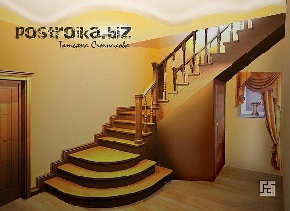Такие лестницы чаще всего изготавливаются из дерева, поскольку металл.