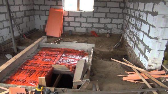 Изготовление крыши подвального помещения