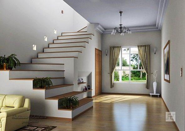 Красивые лестницы на второй этаж: на фото и в жизни…