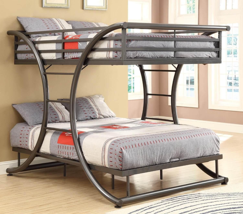 Двухъярусные детские кровати своими руками из металла чертежи фото 155