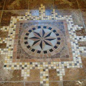 Панно из керамической плитки
