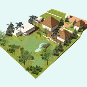 План загородного участка 15 соток