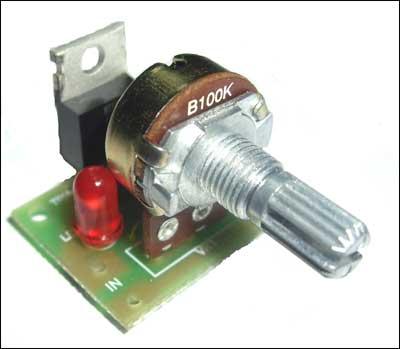Регулятор мощности без радиатора