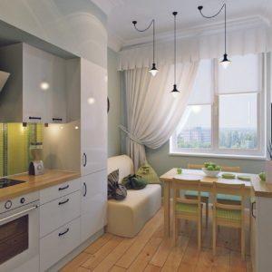 Кухня в северном стиле