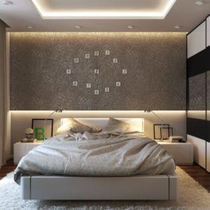 Модерн в оформлении спальни