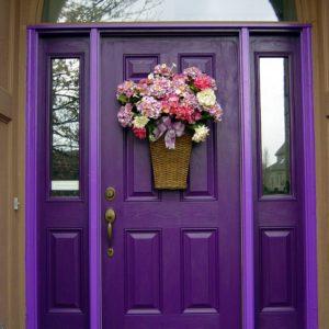 Обновление входной двери снаружи