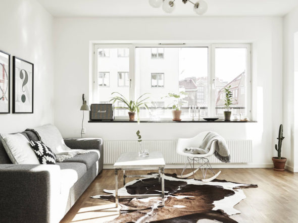 Окна в скандинавском интерьере