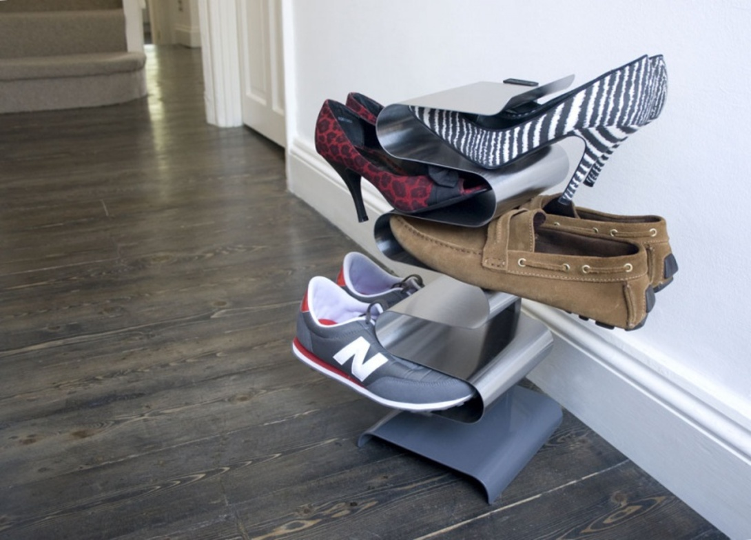 Полки для обуви своими руками, или как навести порядок в прихожей