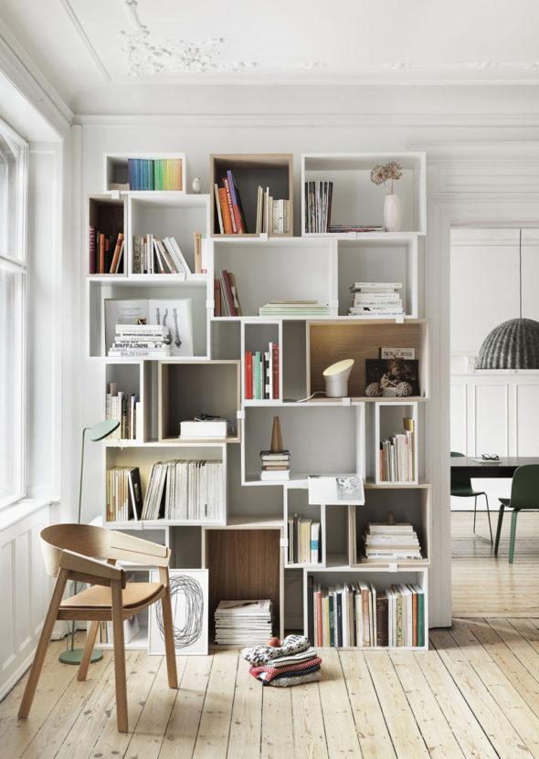 Полки для книг и вещей