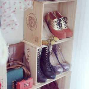 Полочки под обувь
