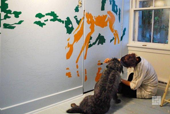 Роспись стен своими руками фото фото 363