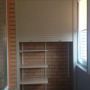 Балконный шкаф-стеллаж