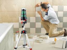 Укладка плитки на стенах