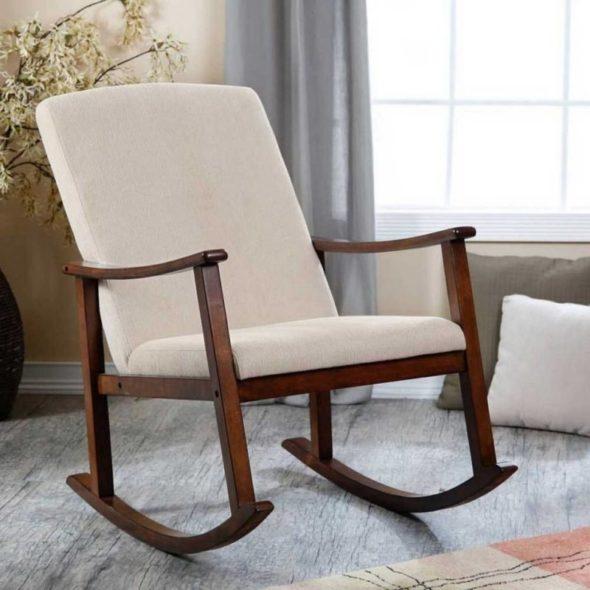 Классическое кресло на радиусных полозьях