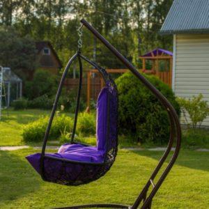 Кресло-кокон — открытая разновидность