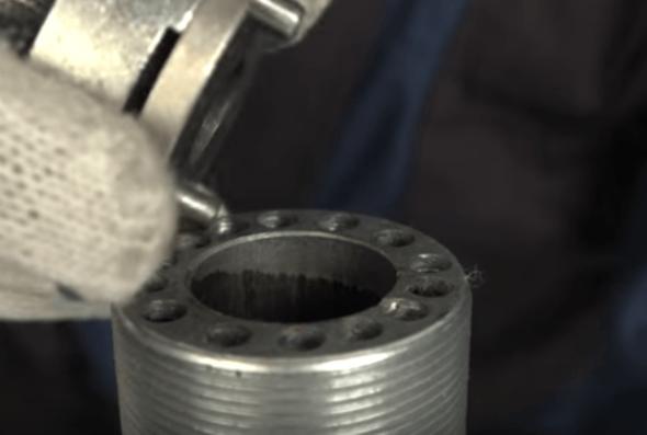 Отсоединение кольцевого клапана