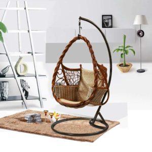 Плетёное кресло-гнездо