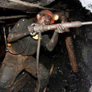 Применение отбойника в угледобывающей шахте