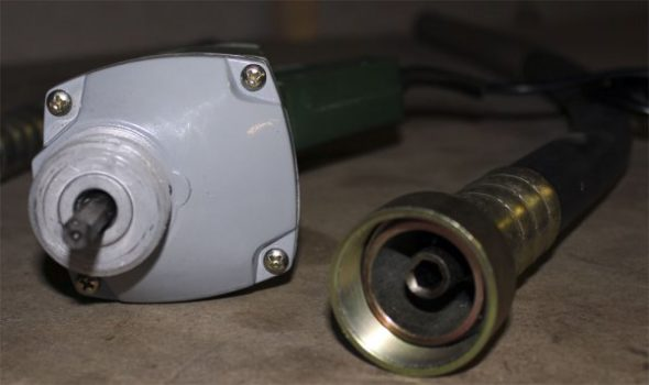 Глубинный вибратор из дрели