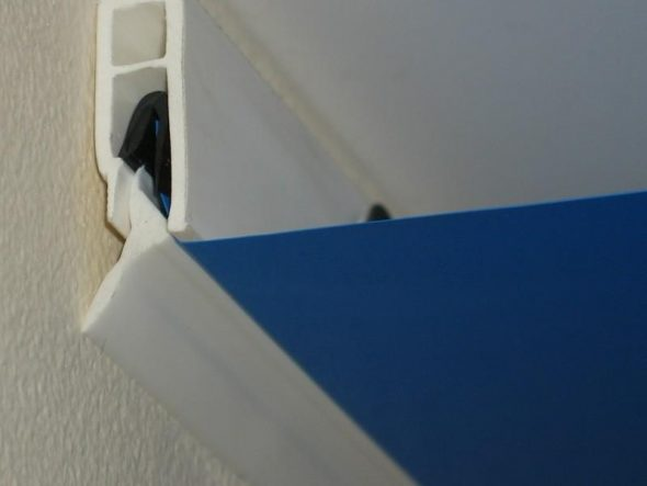 Крепёжные элементы для натяжного потолка