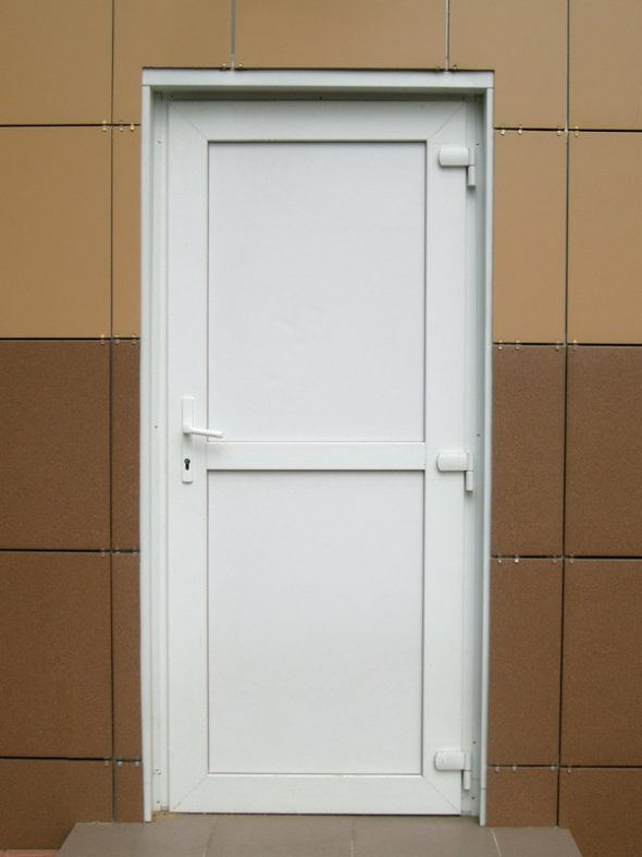 Глухое дверное полотно