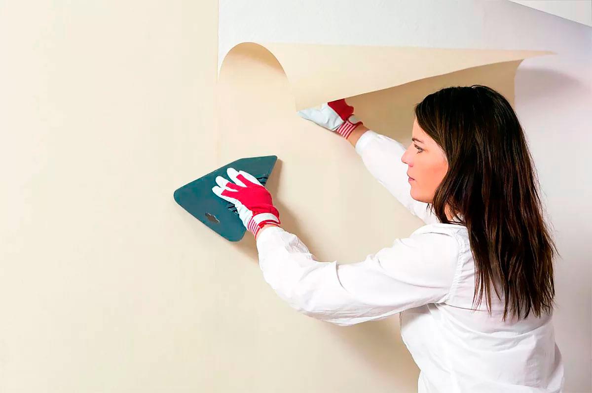 «Одежда» стен и потолка: как правильно клеить обои