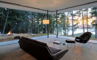 Стиль минимализм в современной гостиной