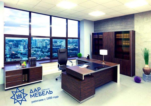 Кабинет руководителя от Дар Мебель
