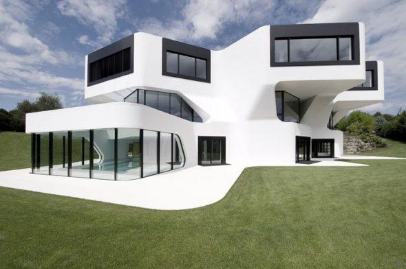 Необычный загородный дом в Германии