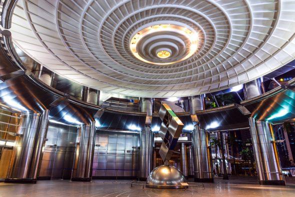 Холл в башне Петронас