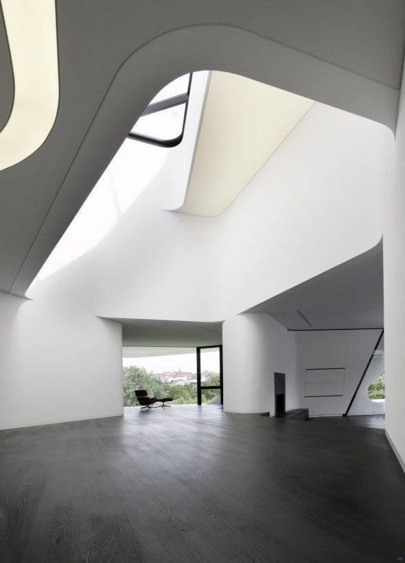 Интерьер холла в особняке в Германии