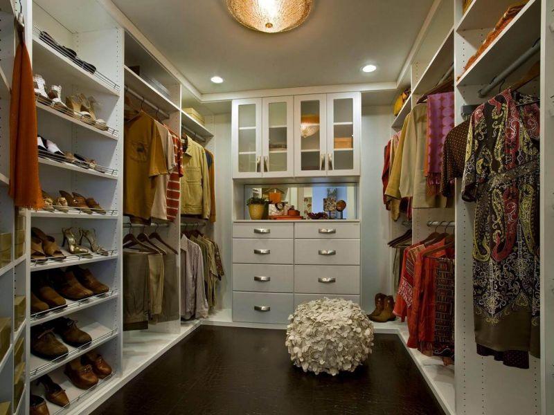 30 идей обустройства удобной гардеробной комнаты