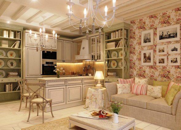 Декор интерьера в стиле Прованс