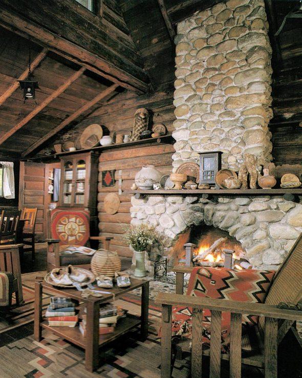 Декор интерьера в стиле рустик