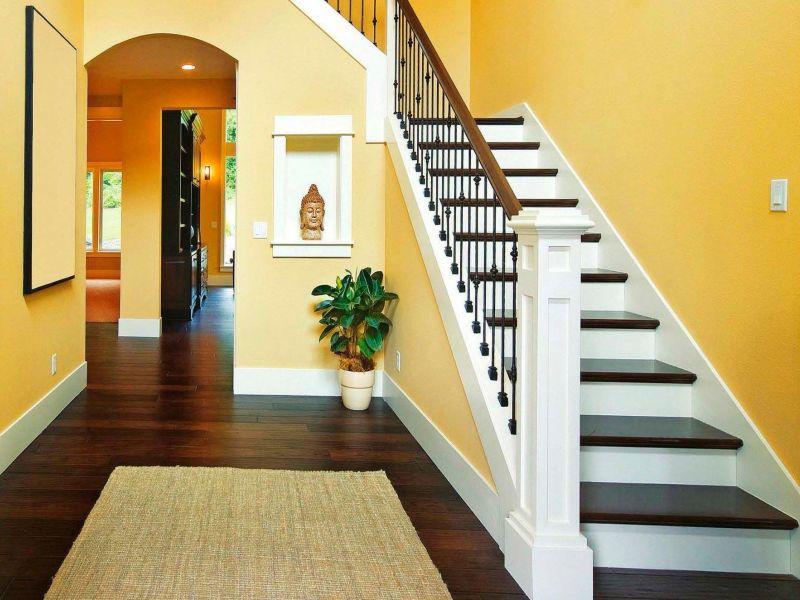 30 идей дизайна лестницы в доме на второй этаж